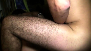 Cute Angelique wants another gangbang