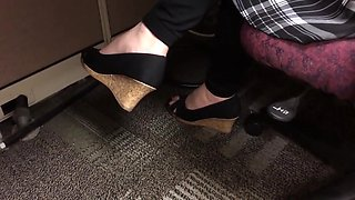 In wedges today