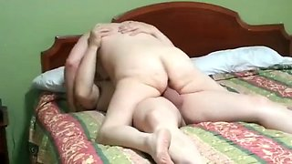 Husband lets co worker fuck older wife