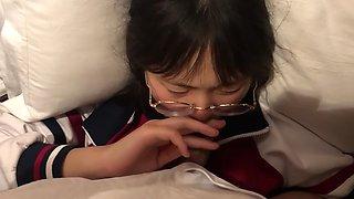 Chinese schoolgirl blowjob