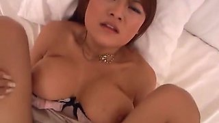 Betty Lin, big tit Asian milf in arousing pov porn action