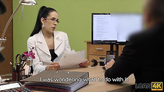 Teen secretary feels like a cheap slut at the adult casting