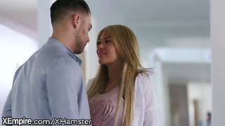 Xempire kayla kayden rides seth gamble on the couch