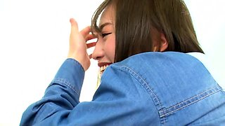 Amazing Japanese tramp Shiho getting anal and toy insertion