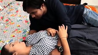 Desi School Girl affair in Webseries