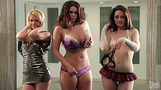 Alison Tyler, Beverly Lynne, Sarah Shevon In Jessica Drake Guide To Wicked Sex: The Art Of The Striptease, Scene 1
